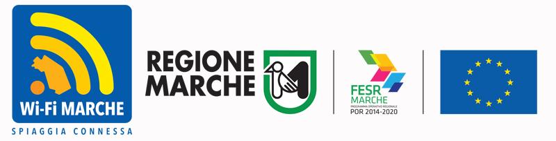 Spiaggia connessa - Regione Marche - POR FESR 2014-20 - Unione europea